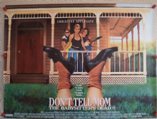 Dont Tell Mom the Babysitters Dead, UK Quad Poster, Christina Applegate, '91
